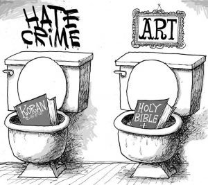 """The hypocrisy of the so-called """"hate speech"""" laws is astounding"""