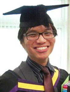 Homosexual serial rapist Reynhard Sinaga, as a student