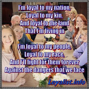 Loyal to my nation, 900x900