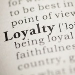 Loyalty in dictionary
