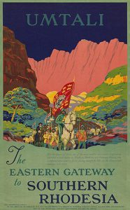 A travel poster for Rhodesia