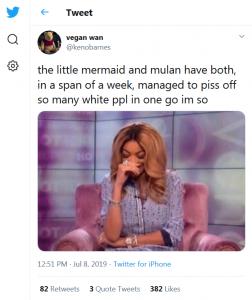 Twitter, Kenobarnes, 2019-07-08 Little Mermaid