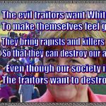 Angela Merkel and other traitors