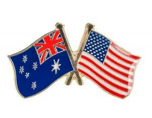 Australia and USA, 900x700