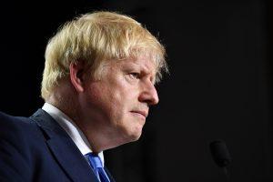 Boris Johnson, profile right side, 600x400