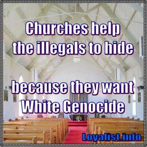 Churches help the illegals, 900x900