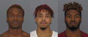 Darrell Kinney, Terry Jackson, Demetrius Williams