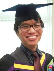 Homosexual serial rapist Reynhard Sinaga, as a student