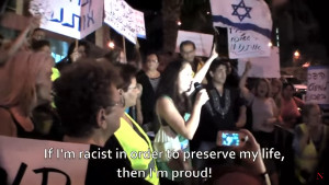 "Patriotic Jewish woman: ""If I'm racist in order to preserve my life, then I'm proud!"""