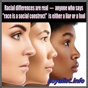 Racial differences are real, 900x900