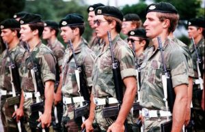 The Rhodesian Army had fought long and hard against Mugabe's communists, but they were betrayed by the liberal democracies of the West