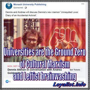 Universities, Cultural Marxism, and Leftist brainwashing, 900x900
